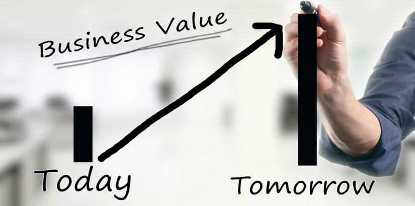 Determine the enterprise value